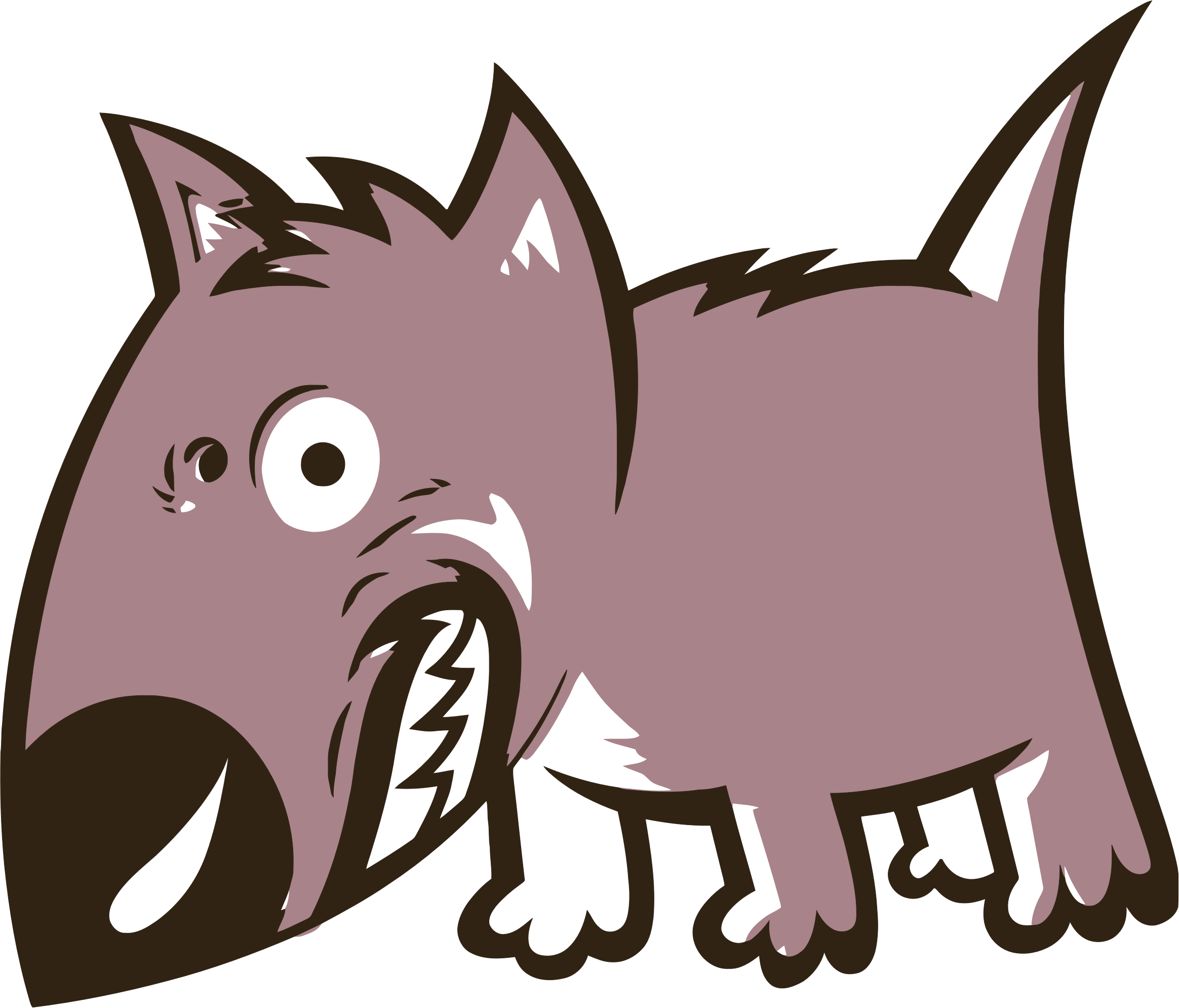 Iceberg clipart anger. Free angry dog download