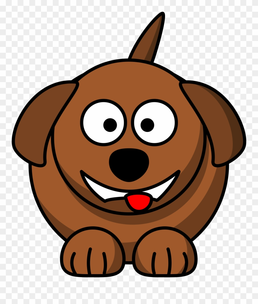 Cute free . Dog clipart cartoon