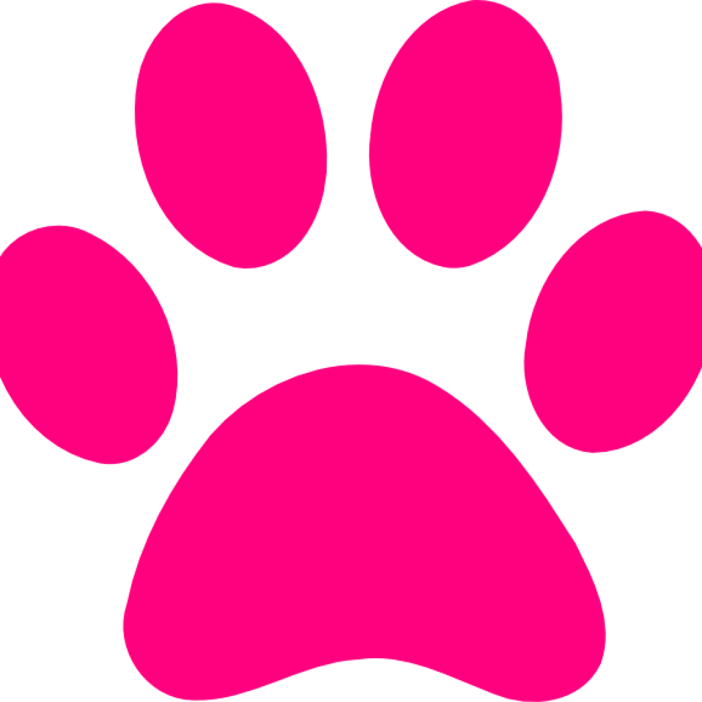 Pawprint clear background