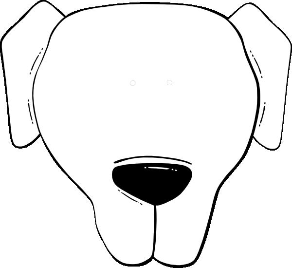 Dog clipart kid. Flp face clip art