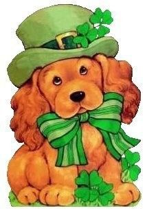 Dog clipart st patrick day. S puppy clip art