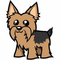 Free download best . Dog clipart yorkie