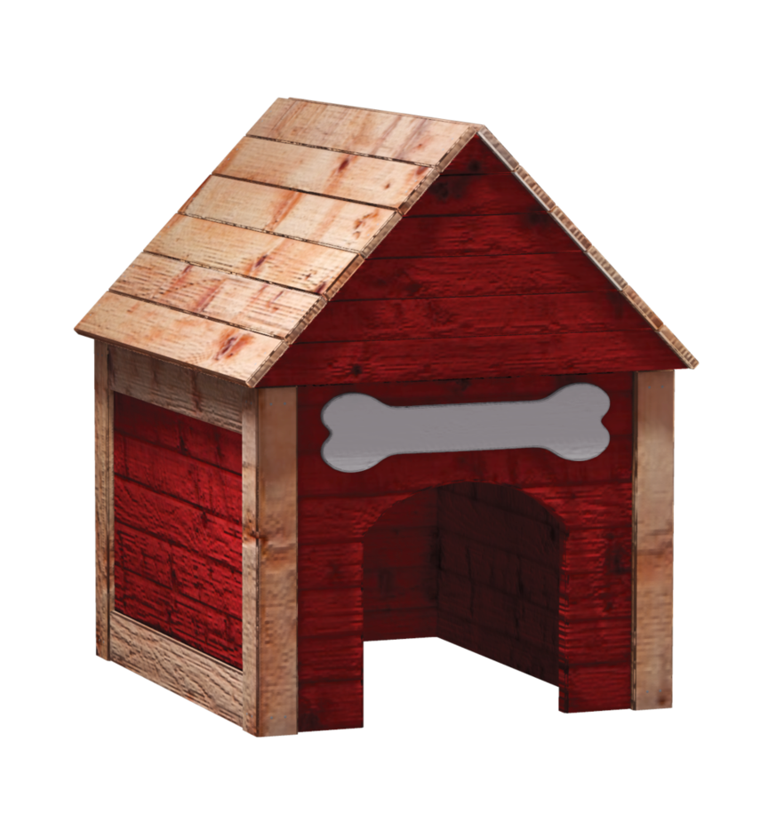 Dog house png. By shades of rage
