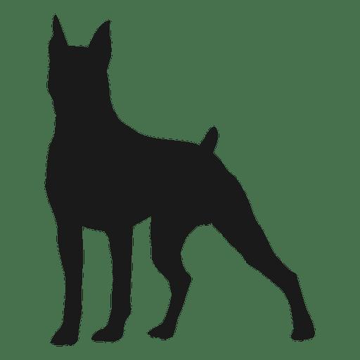 Silhouette transparent svg. Dog vector png