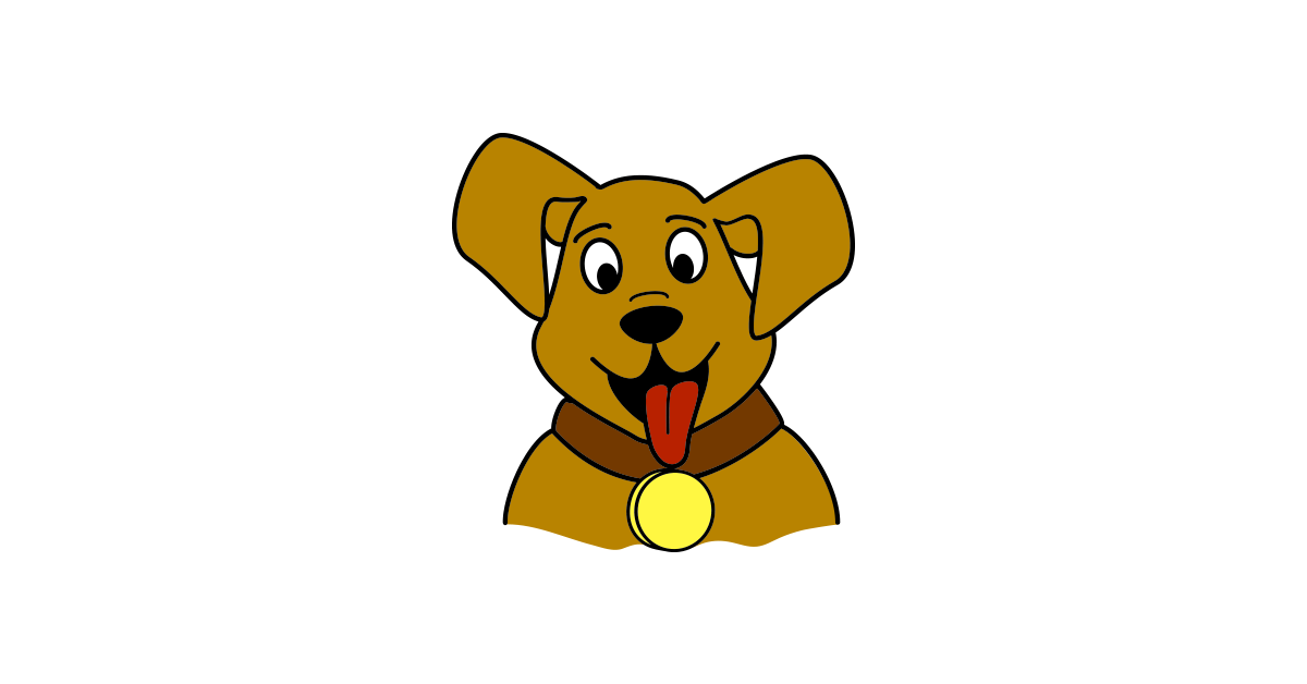 Dog vector png. Cute and free download