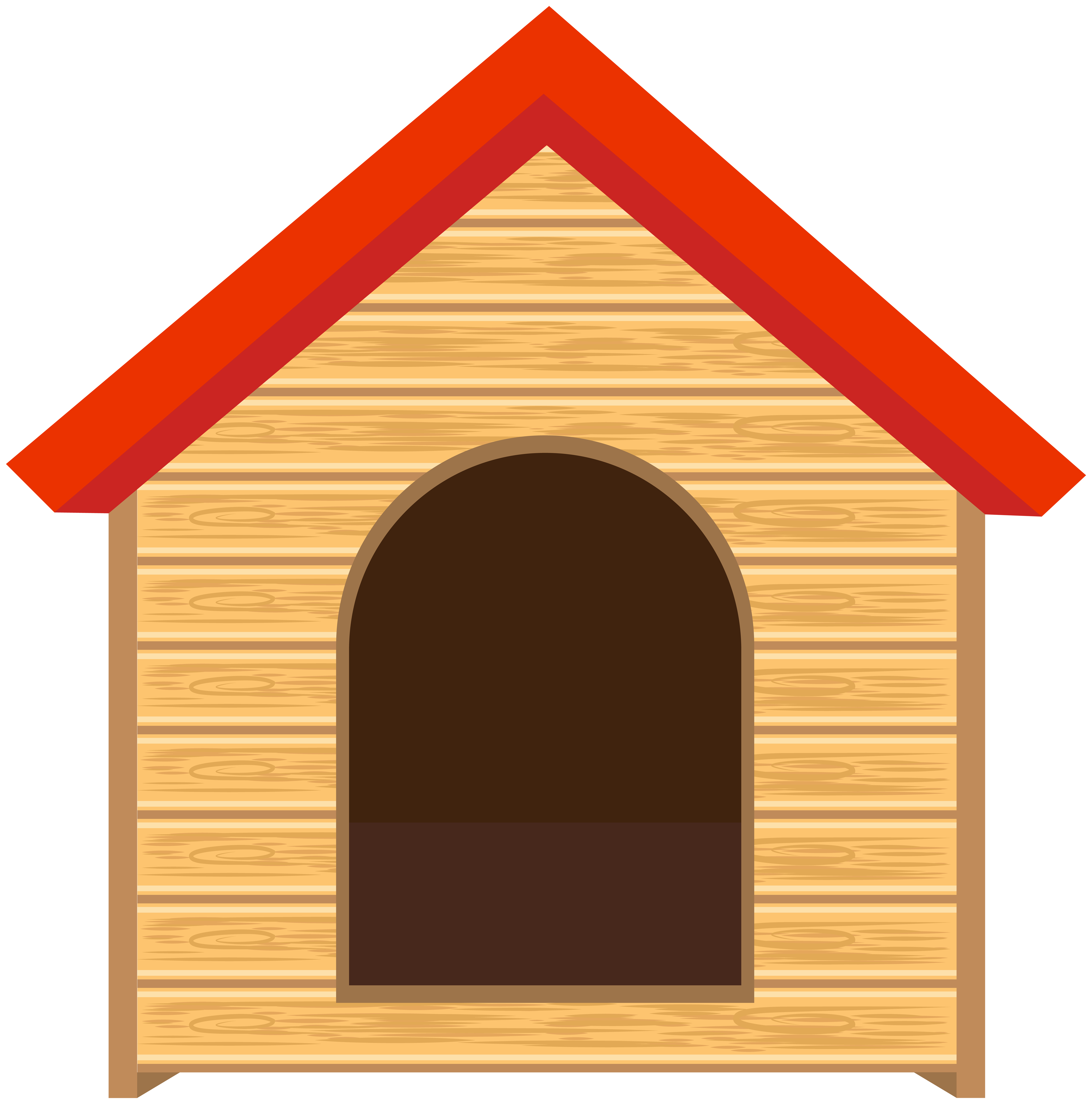Doghouse clip art image. Dog house png