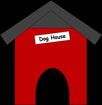 Doghouse clipart. Dog house clip art