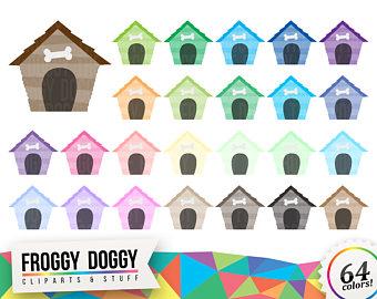 Etsy dog house pet. Doghouse clipart