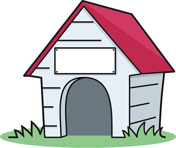 Pet house free download. Doghouse clipart animal home