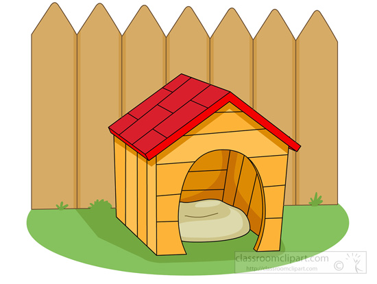 Doghouse clipart animal home. Free house cliparts download