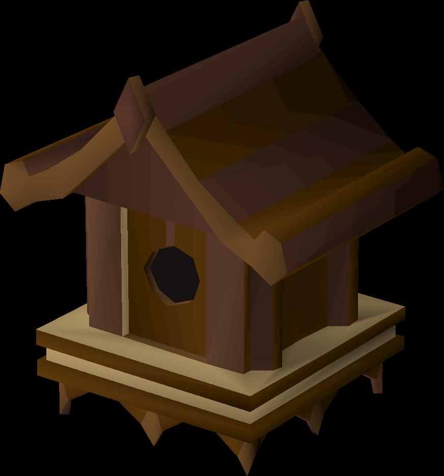 Mahogany old school runescape. Doghouse clipart bird house