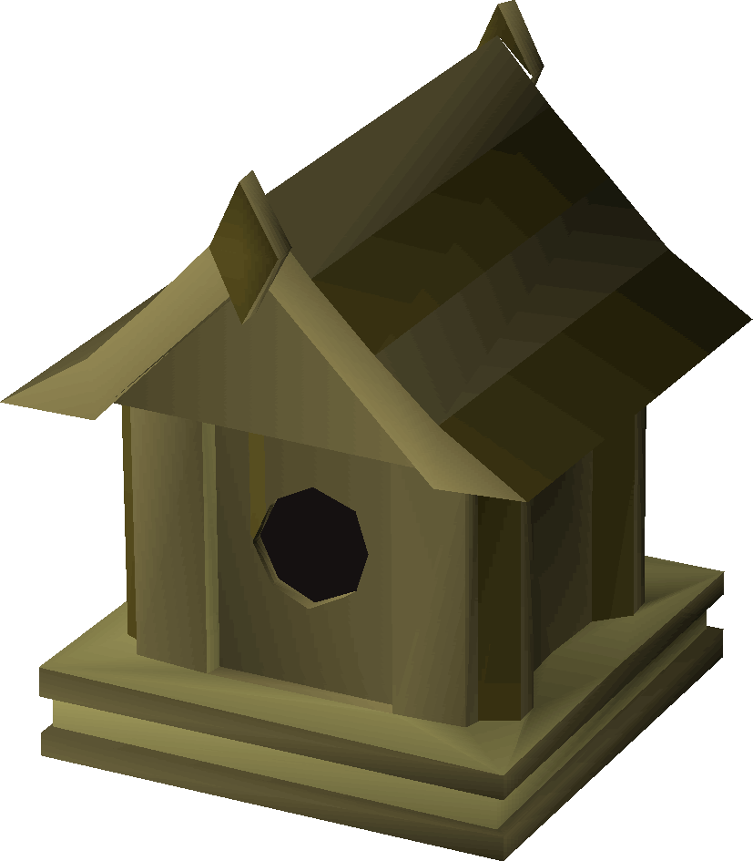 Doghouse clipart bird house. Willow old school runescape