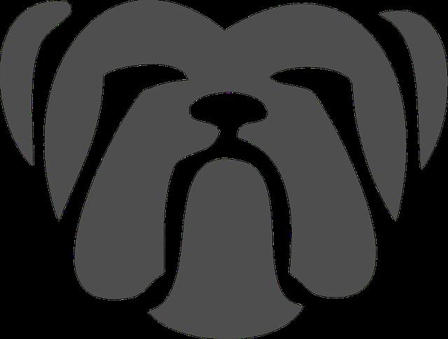 Doghouse clipart bulldog. Free image on pixabay