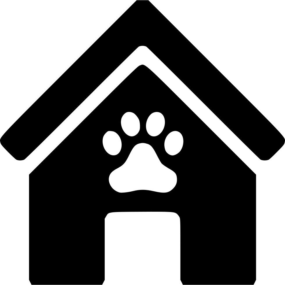 Svg png icon free. Doghouse clipart cat house