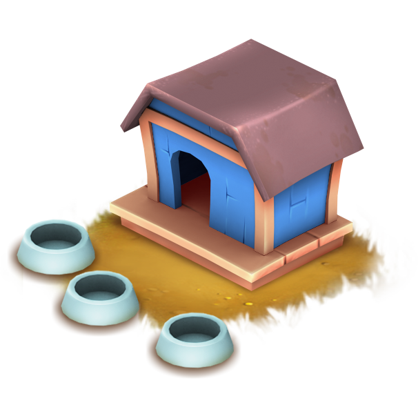 Doghouse clipart cat house. Retriever hay day wiki