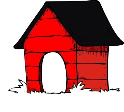 Free pet cliparts download. Doghouse clipart cat house