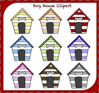Dog house animal . Doghouse clipart cute