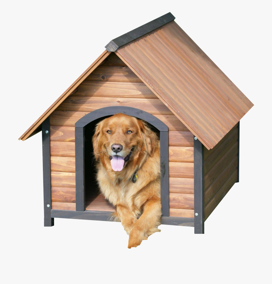 Doghouse clipart dog cage. Wooden kennel no background
