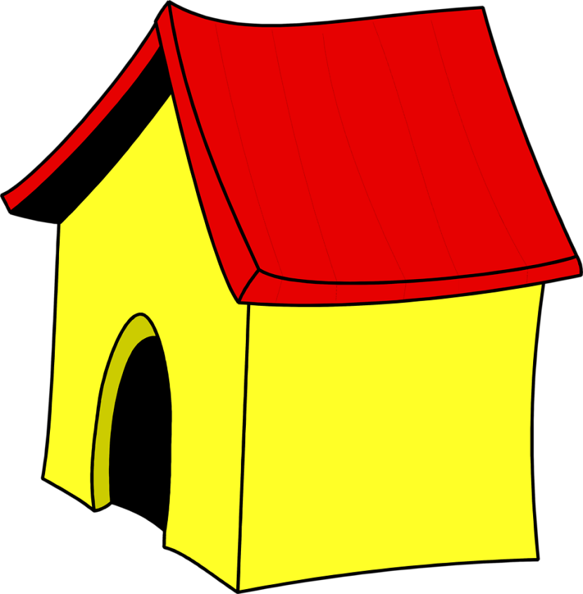 Doghouse clipart dog cage. In group best house