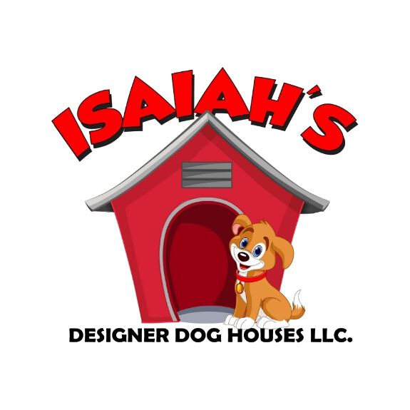 Isaiah s designer doghouses. Doghouse clipart dog crate