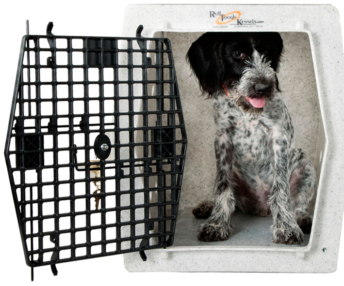 Ruff tough kennels capable. Doghouse clipart dog pen