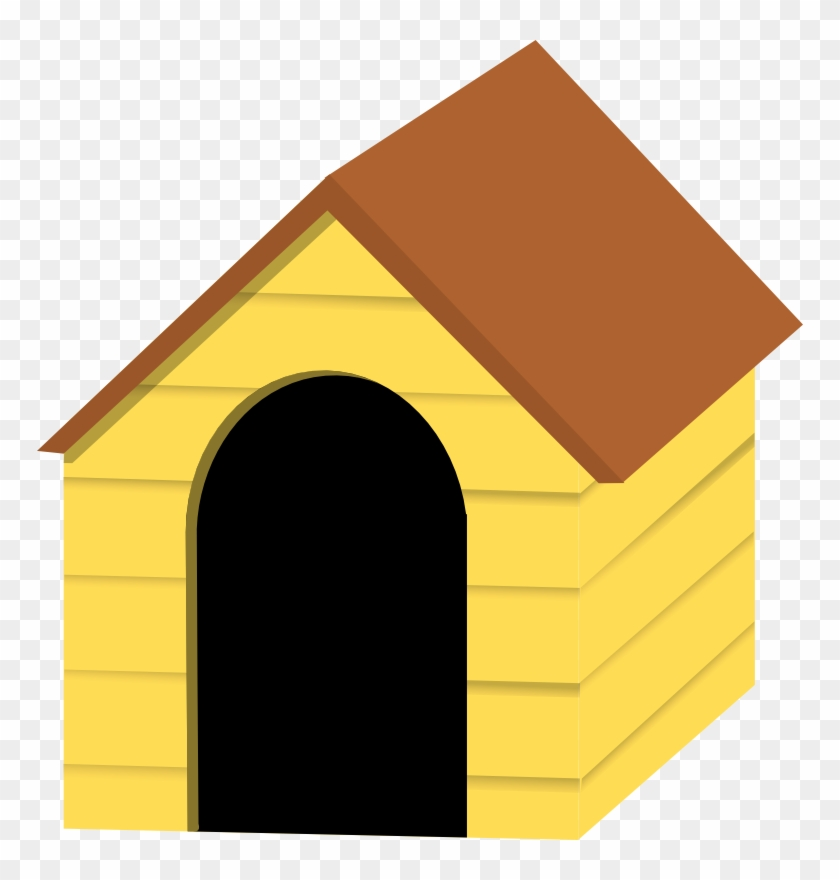House clip art with. Doghouse clipart dog pen