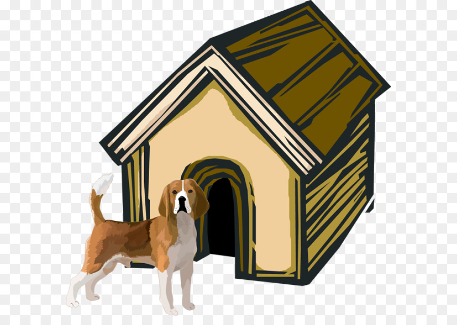 Home cartoon house transparent. Doghouse clipart dog thing
