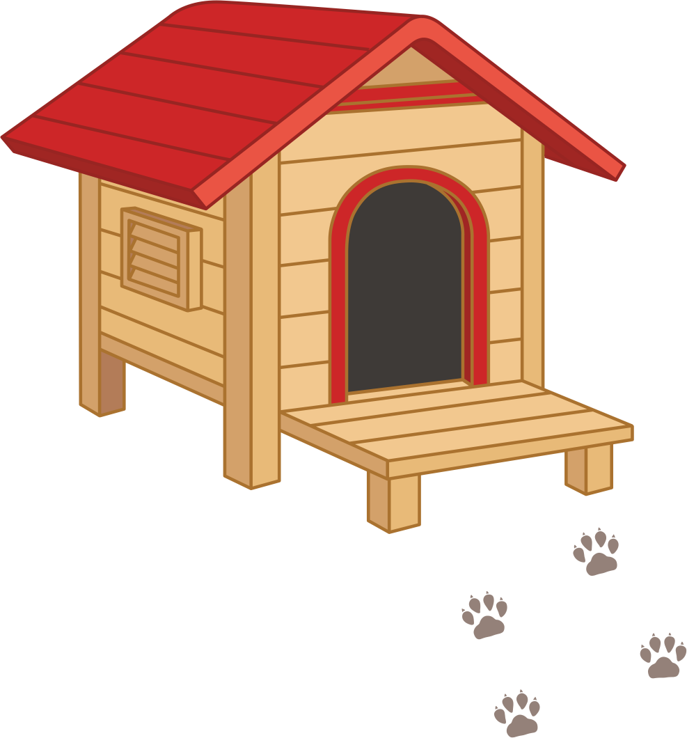 Houses clip art transprent. Doghouse clipart dog toy
