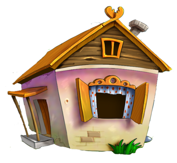 Doghouse clipart hut house. Tubes maisons blog de