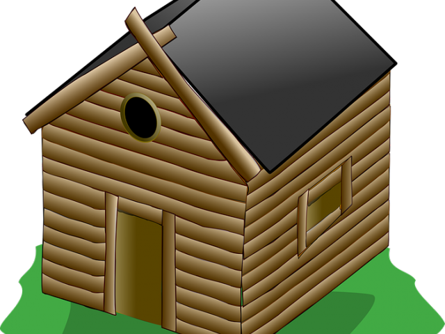 Doghouse clipart hut house. Nippa free on dumielauxepices