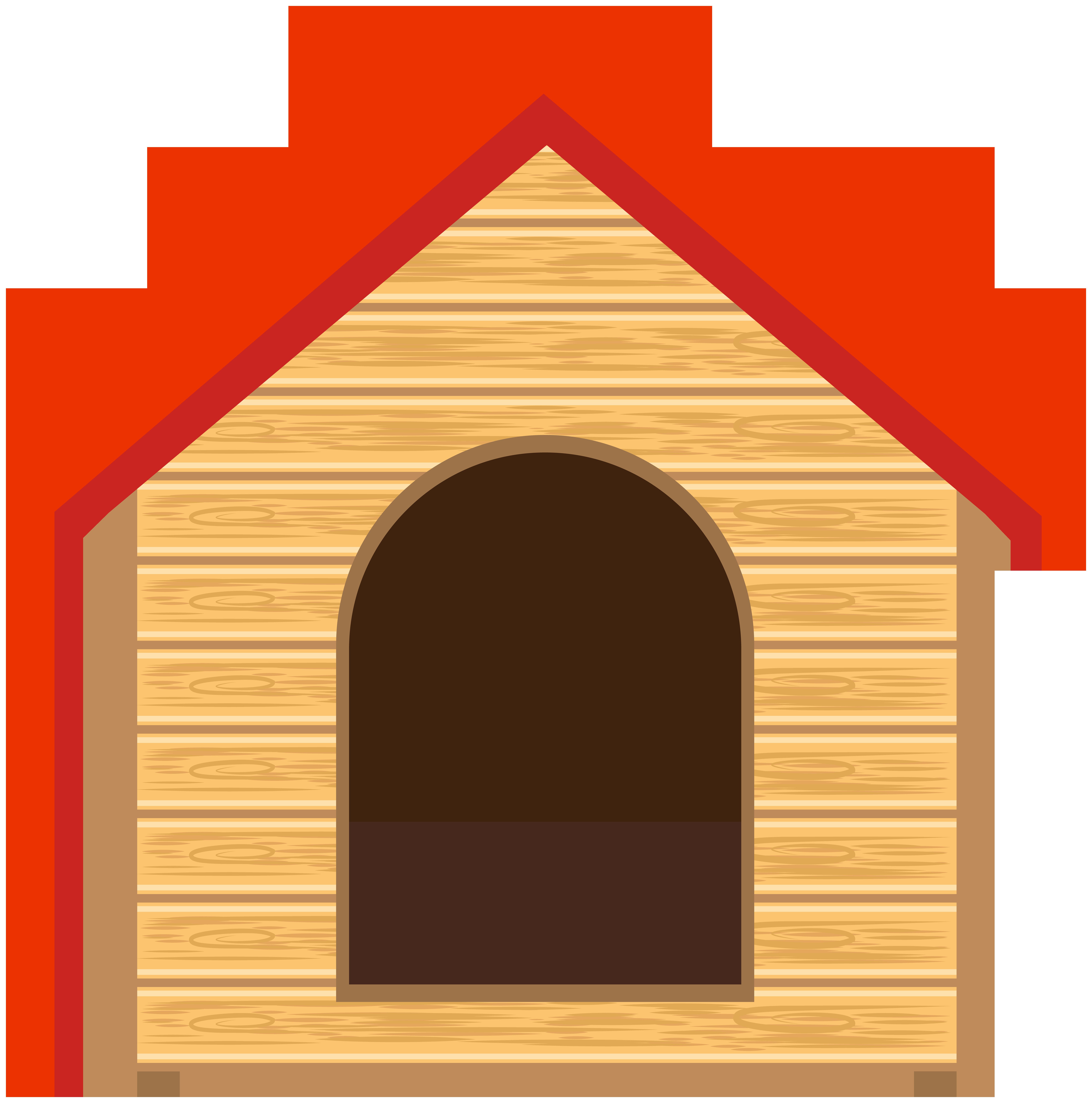 Dog houses clip art. Doghouse clipart hut house