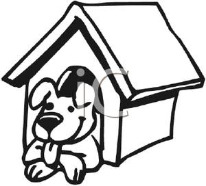 Pictures free download best. Doghouse clipart inside outside