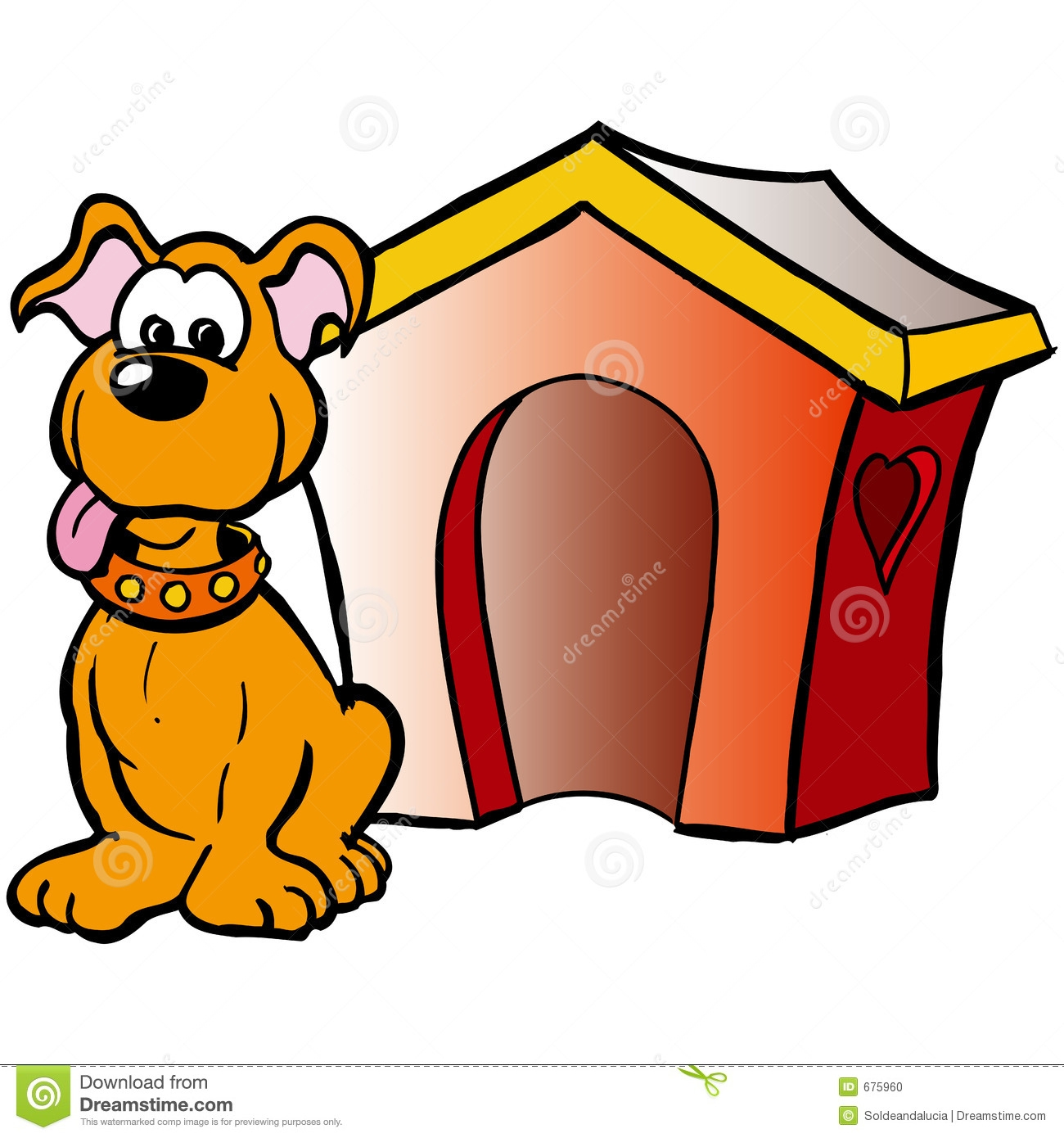 Doghouse clipart inside outside. Pictures free download best