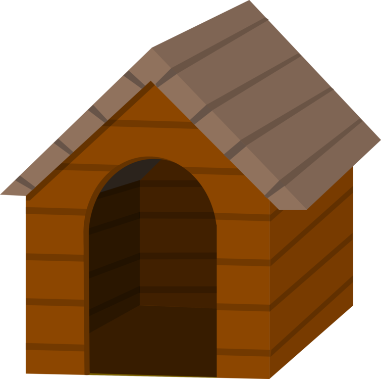 Shed angle png royalty. Doghouse clipart kennel