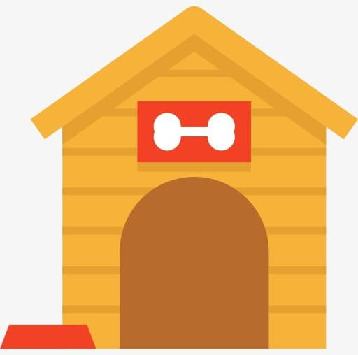Doghouse clipart pet house. Png cartoon
