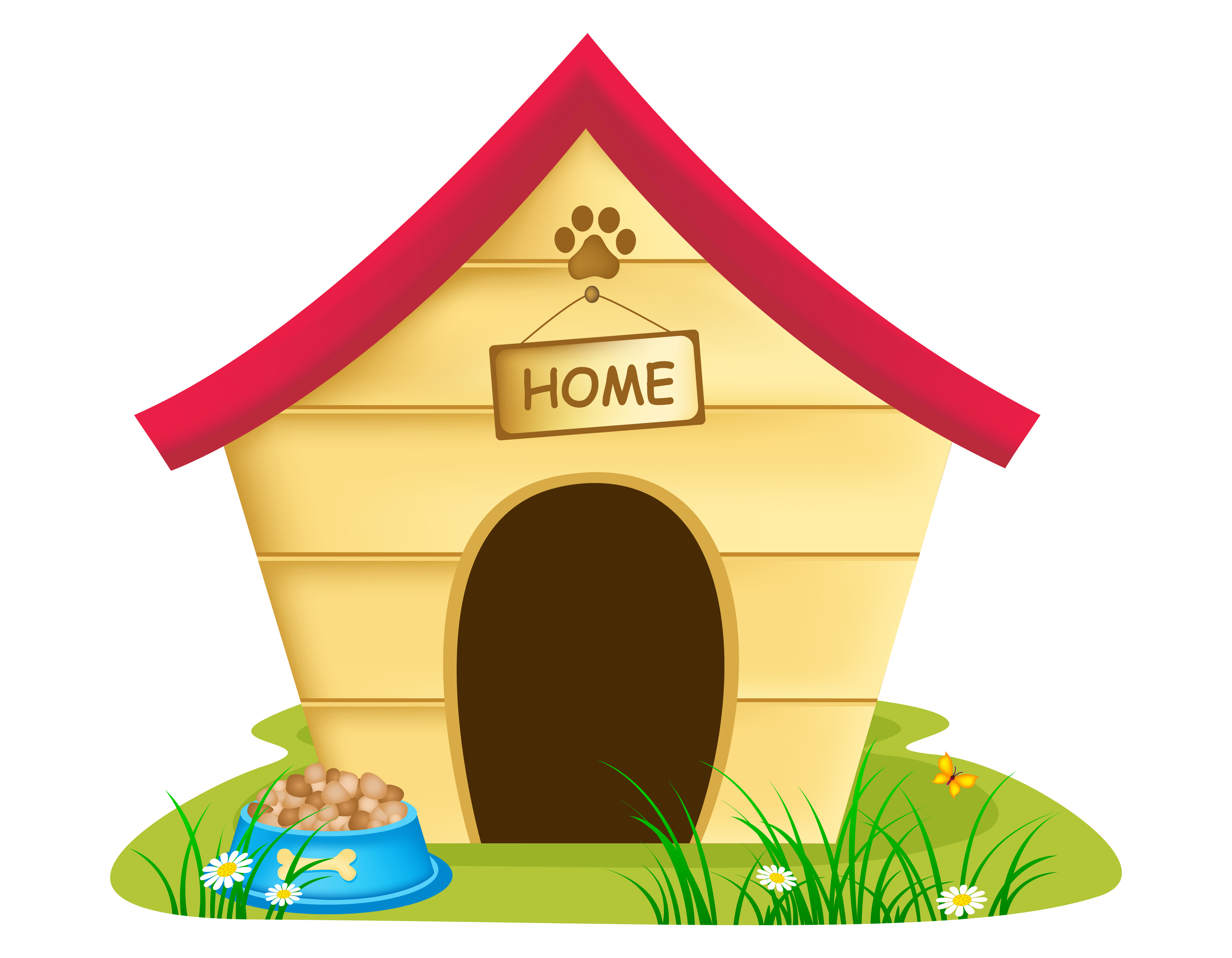 Doghouse clipart pet house. Building or renovating a