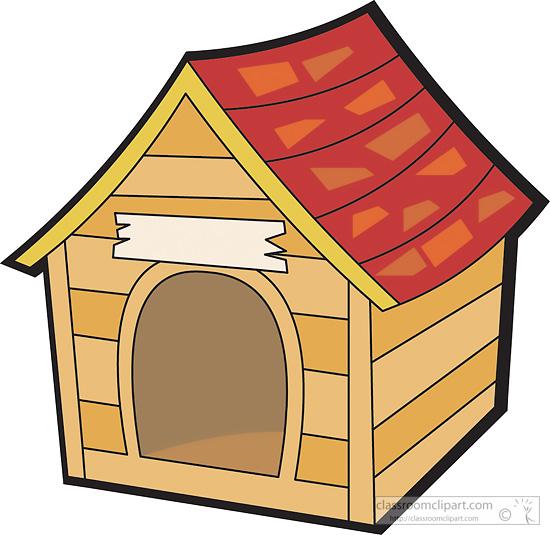 Doghouse clipart pet house. Dog clip art cfxq