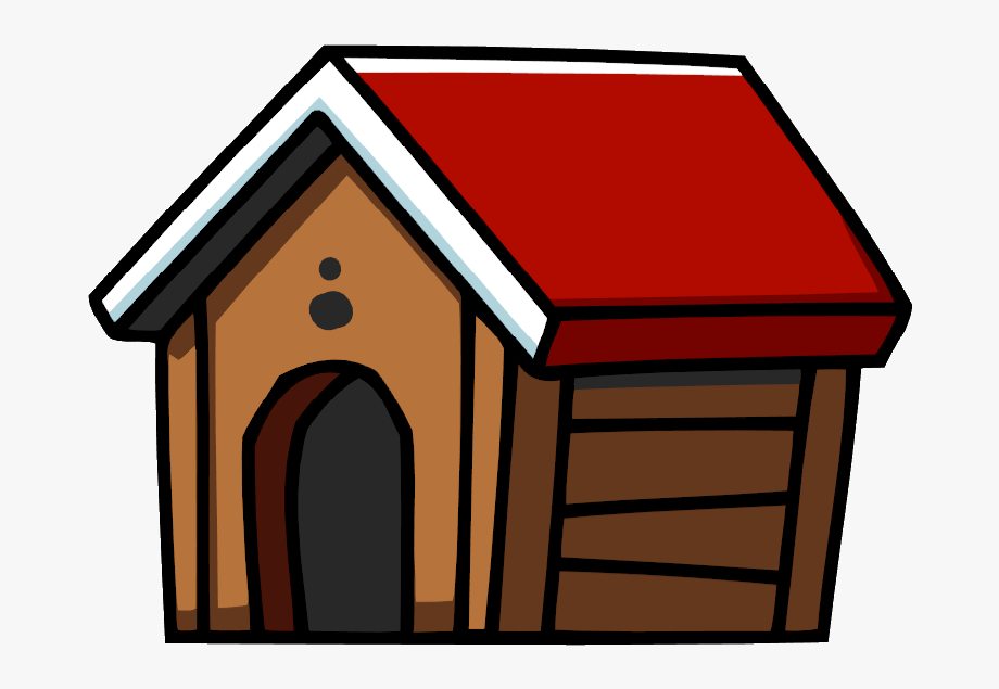 At home dog png. Doghouse clipart pet house