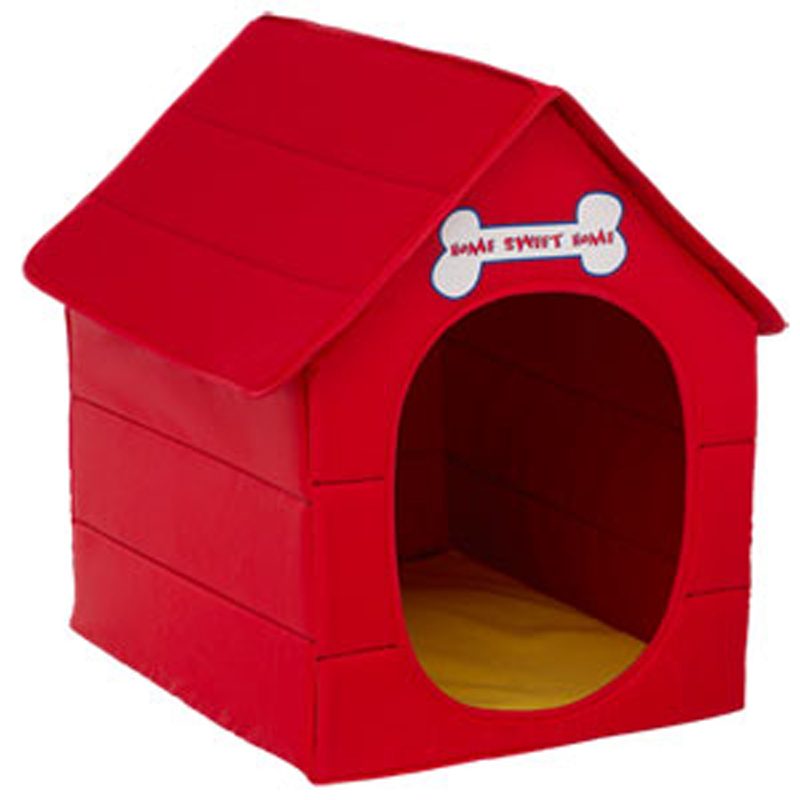 Dog house build a. Doghouse clipart red