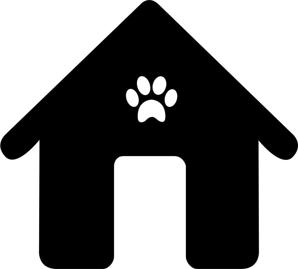 House png icon. Dog svg free download