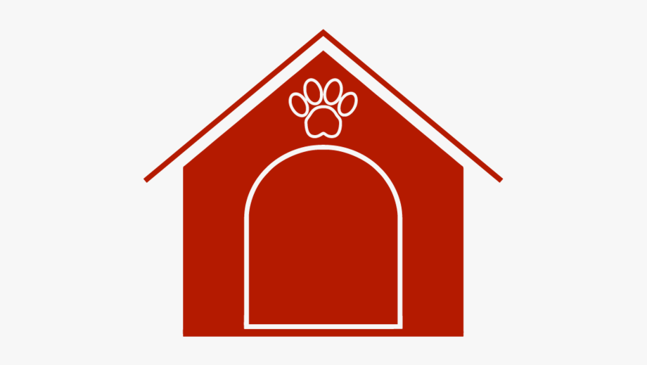 Dog house green cliparts. Doghouse clipart solid object