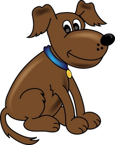 Free dog cliparts download. Dogs clipart brown