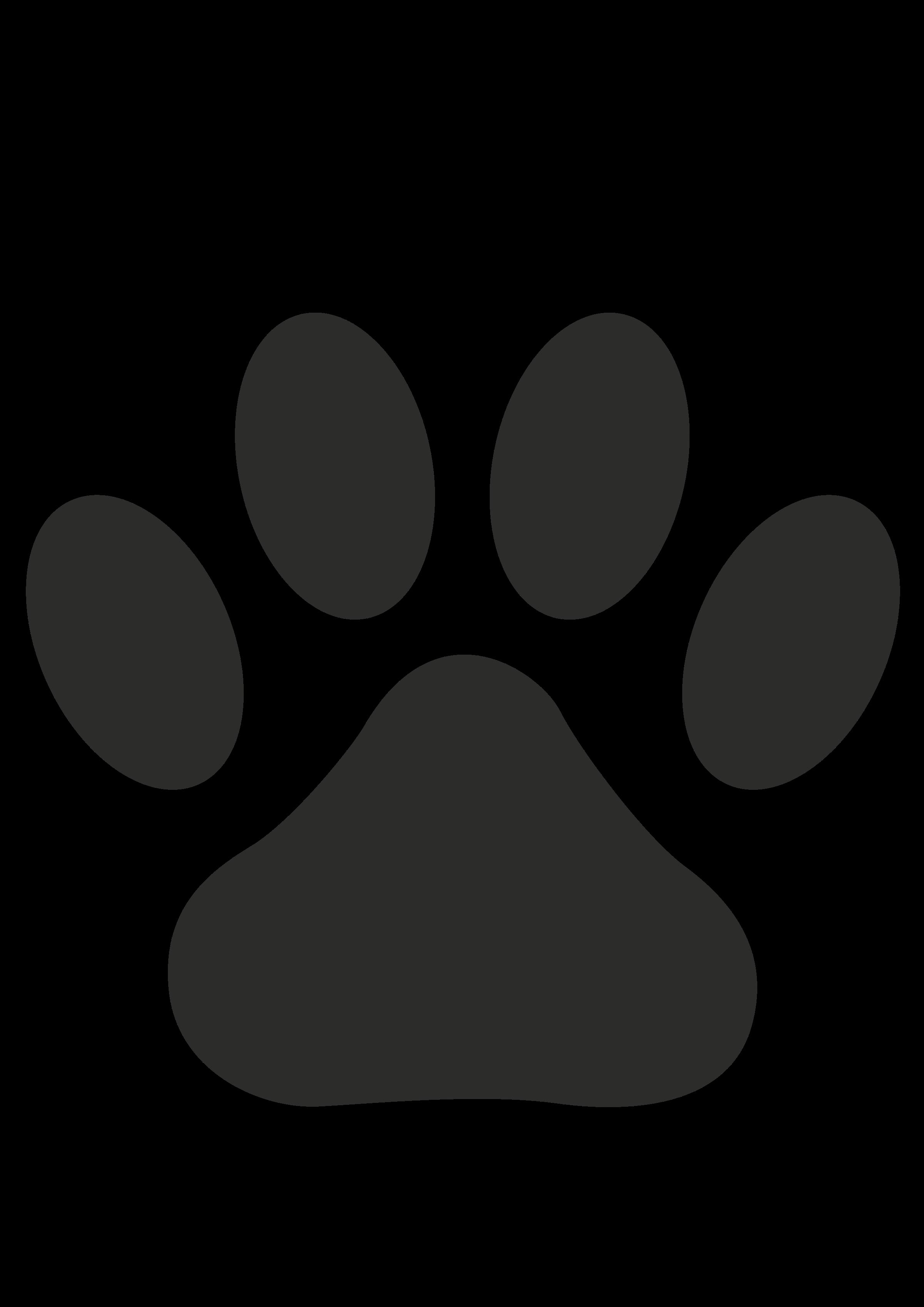 Wildcat clipart bear claw. Paw print big image