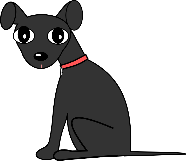 People clipart dog. Black collection download lab