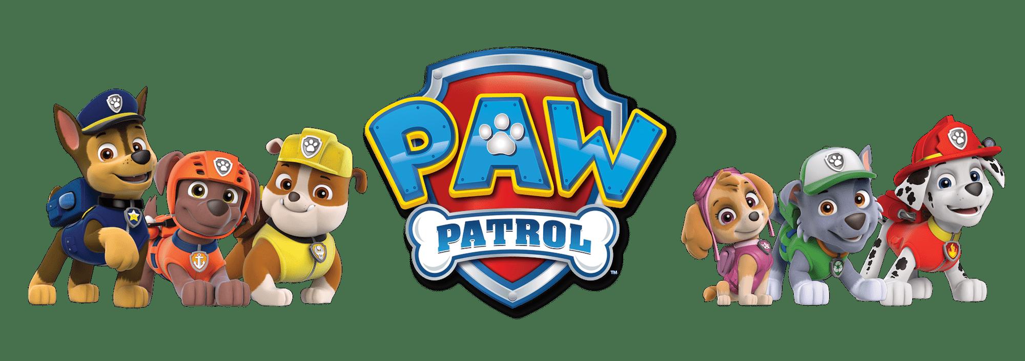 Pawpatrol logo paw patrol. Dogs clipart yoga
