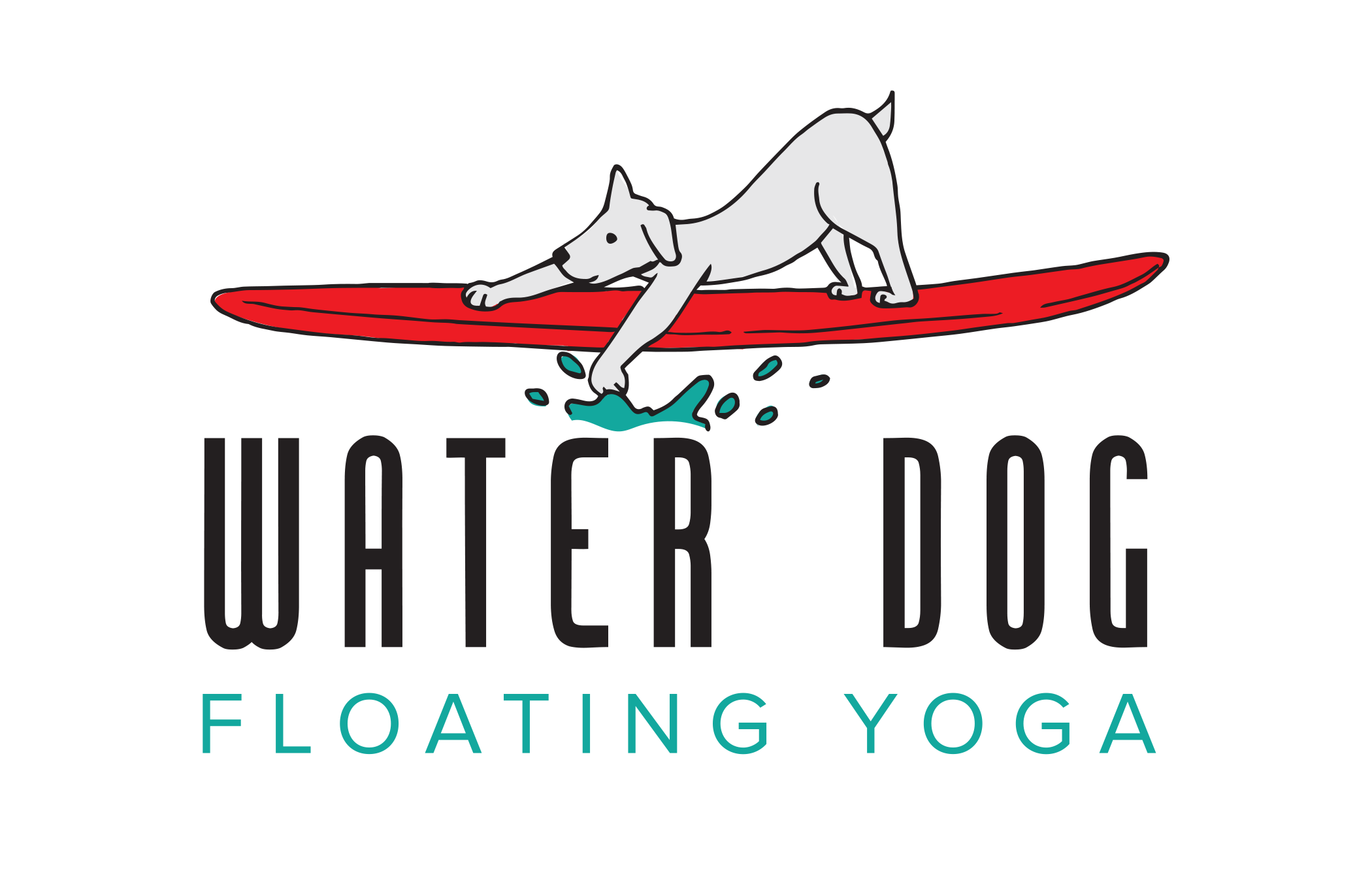 Dogs clipart yoga. Rates waterdog cc floating