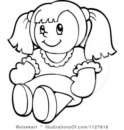 Clip art royalty free. Doll clipart