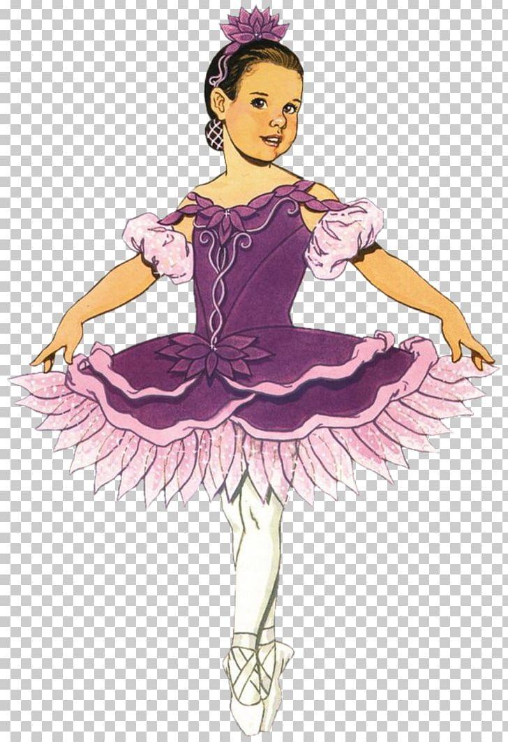 Megan the prima ballerina. Doll clipart ballet