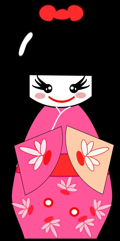 Girl at getdrawings com. Japanese clipart vector