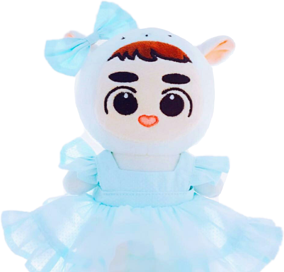 Dolls clipart korean doll. Exo exol dokyungsoo kyungsoo
